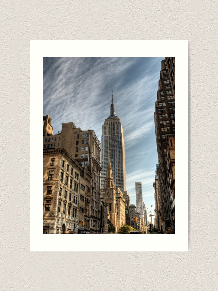 Alternate view of Empire State Building Art Print