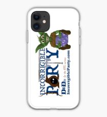 Incorrigible Party logo and Thuft iPhone Case