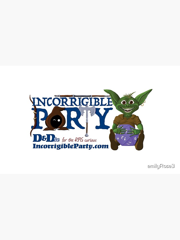 Incorrigible Party logo and Thuft by emilyRose3