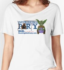 Incorrigible Party logo and Thuft Relaxed Fit T-Shirt
