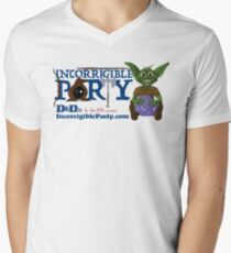 Incorrigible Party logo and Thuft V-Neck T-Shirt