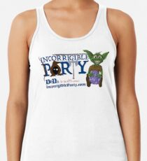 Incorrigible Party logo and Thuft Racerback Tank Top