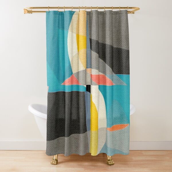 Sailing on the Canal Shower Curtain