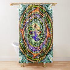 Ouroboros  Shower Curtain