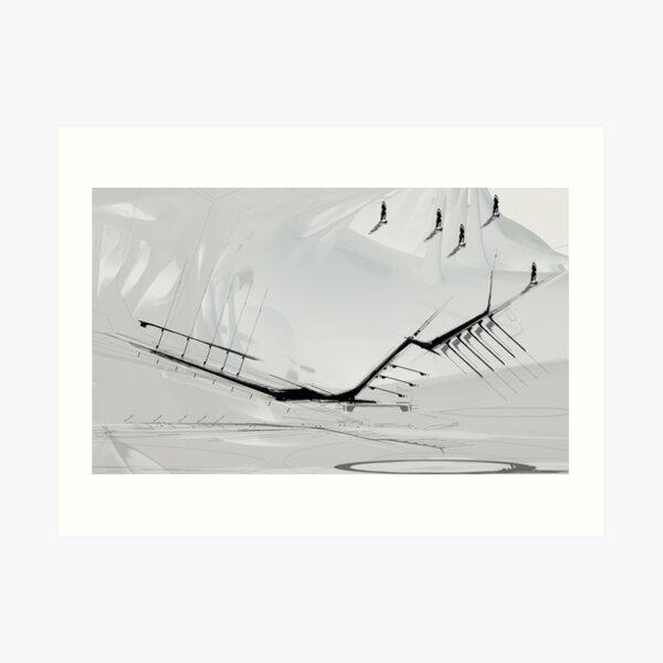 Abstract Monday 053 Art Print