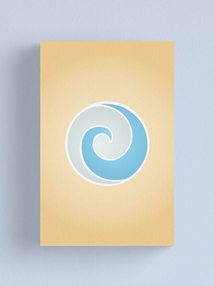 Alternate view of Air Nomads Logo Canvas Print