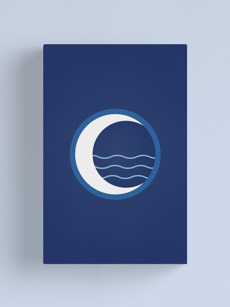 Alternate view of Water Tribe Logo Canvas Print