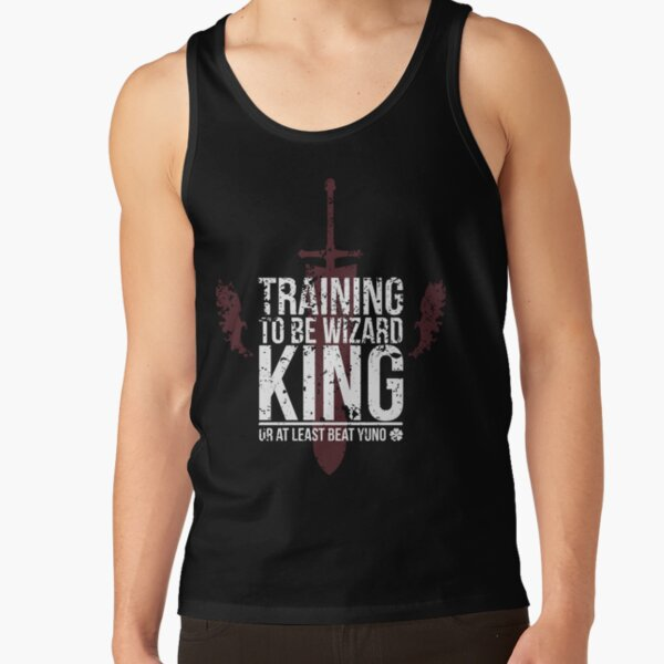 Training to be Wizard King, or at least beat Yuno Tank Top