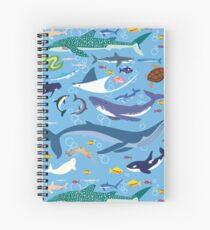 Seananigans - Pattern Spiral Notebook