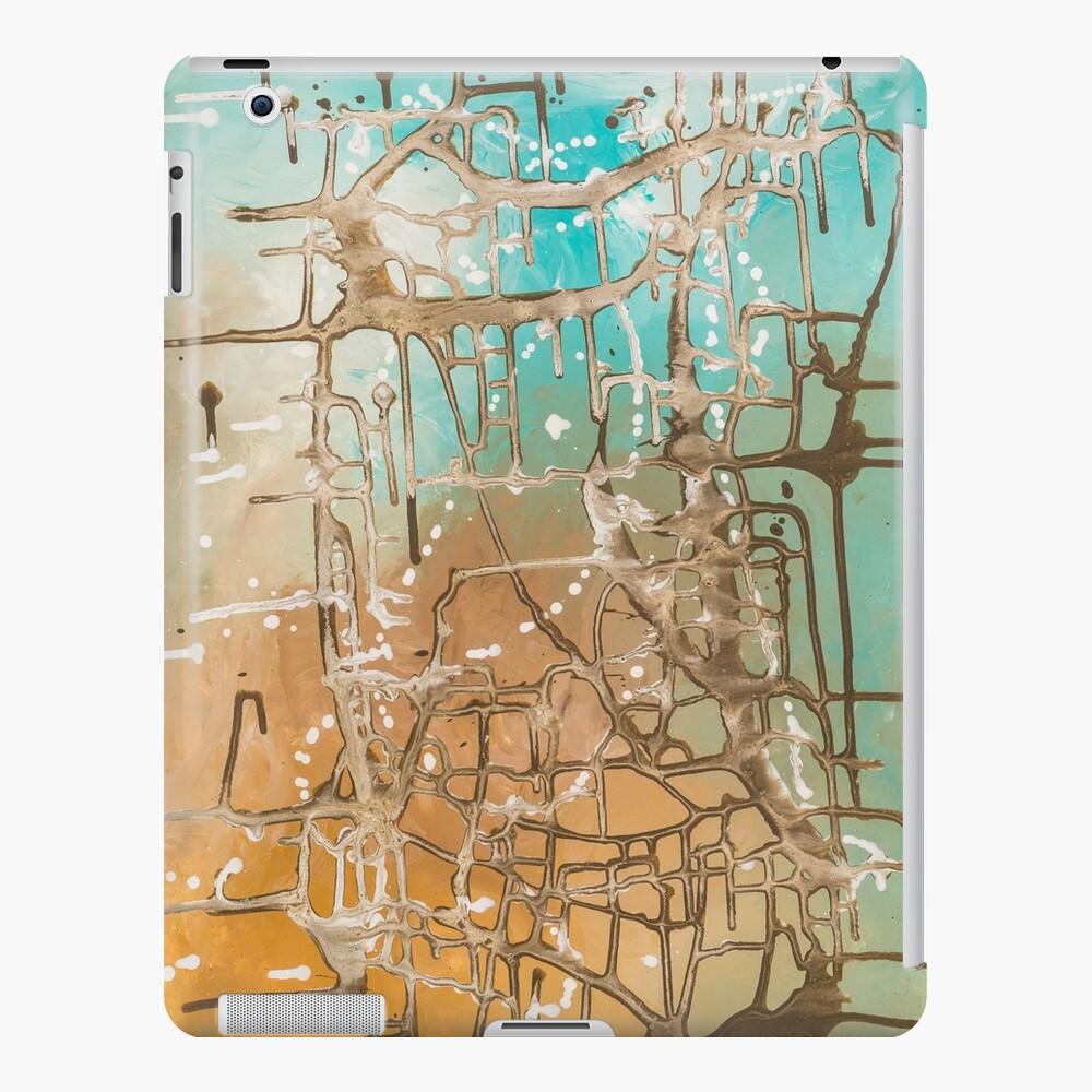 "Abstract painting ""caribbean feeling"" iPad Case & Skin"