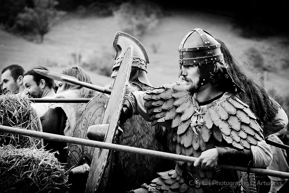 Dacian Warrior by C. & L. | Photography & Artworks