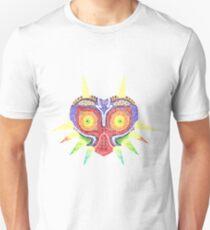 Camiseta ajustada Máscara de Zelda Majora