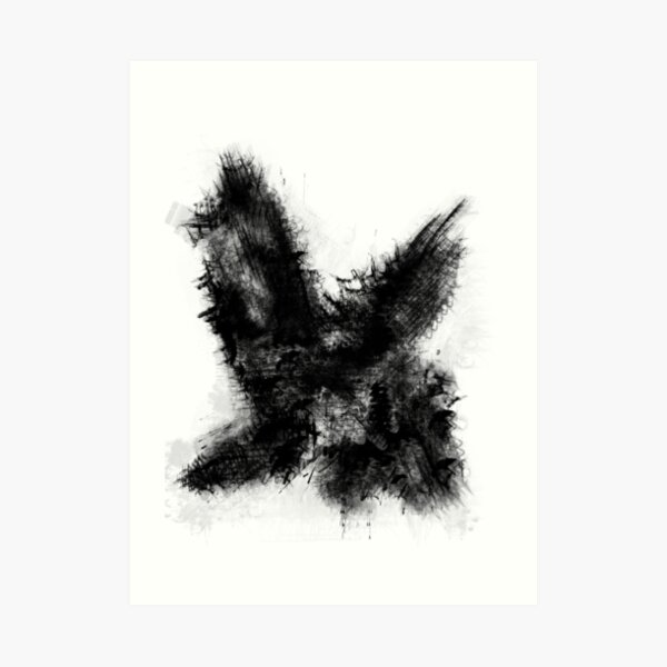 Abstract 007 Art Print
