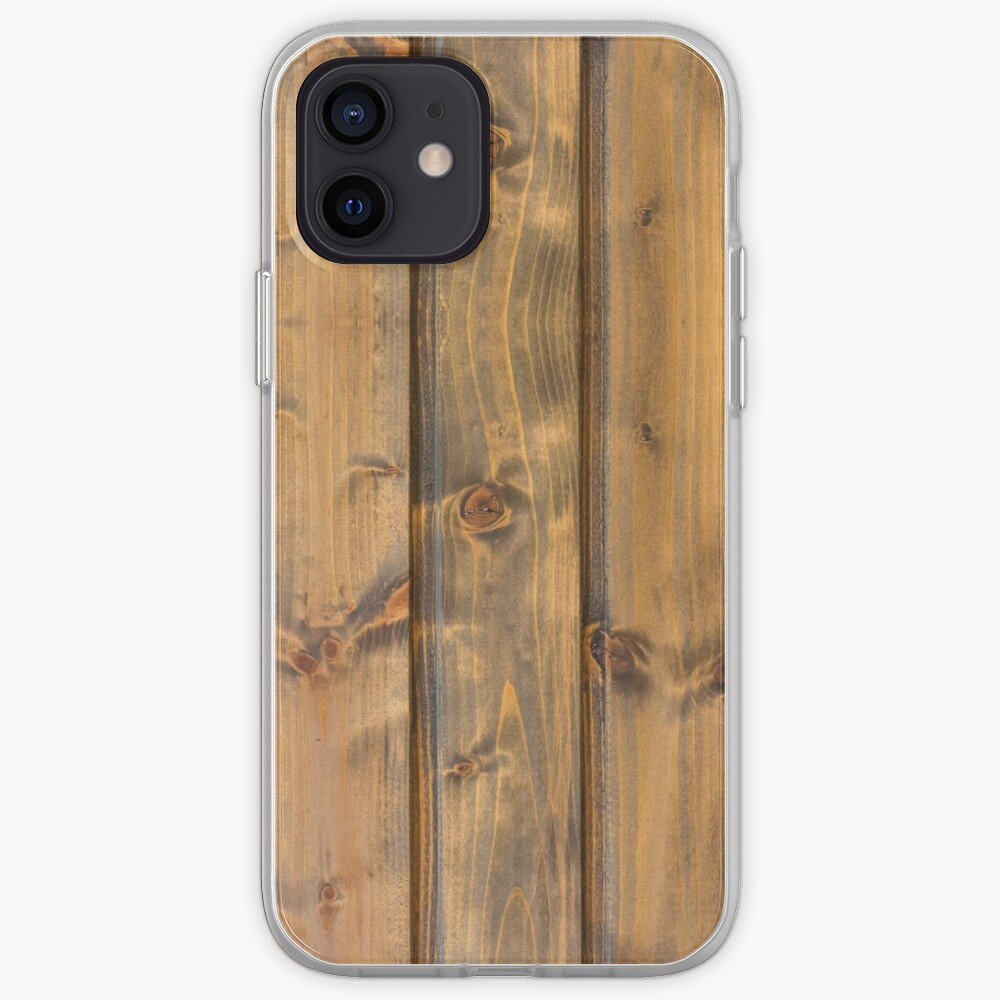 Wood planks pattern iPhone Case & Cover