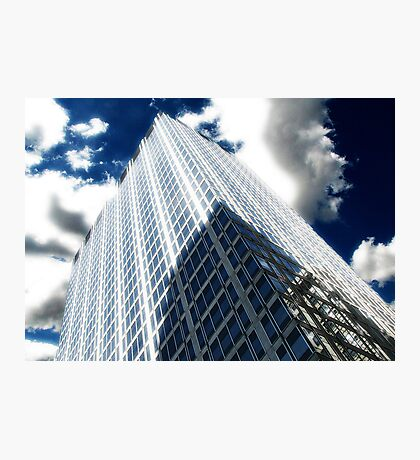 Cityscapes - Shadows, Reflections, and Clouds Photographic Print