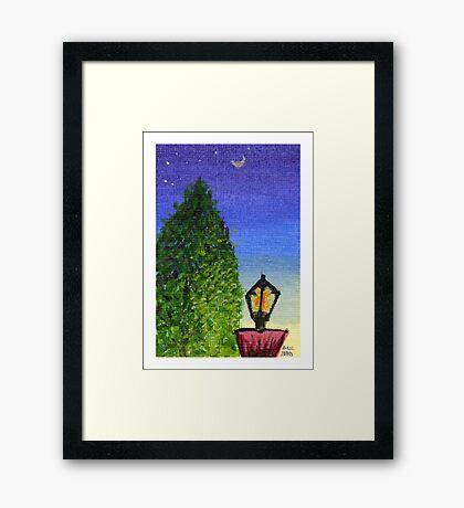 Holiday Stroll Framed Print