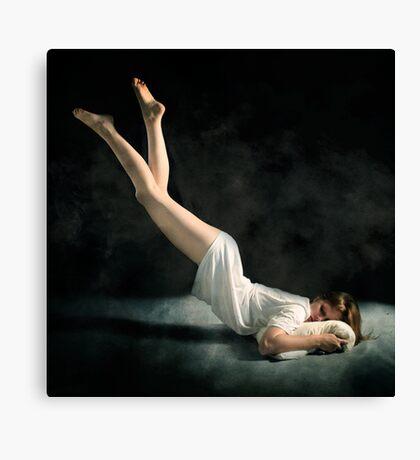 Falling Asleep Canvas Print