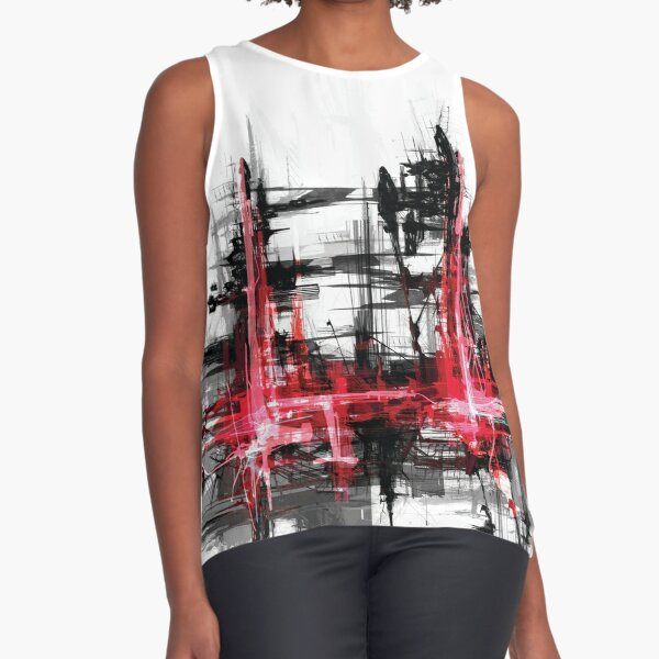 Abstract 071 Sleeveless Top