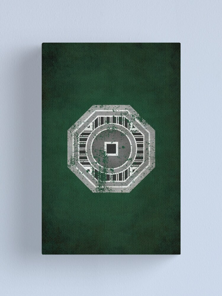 Alternate view of Earth Empire Logo · Distressed Canvas Print