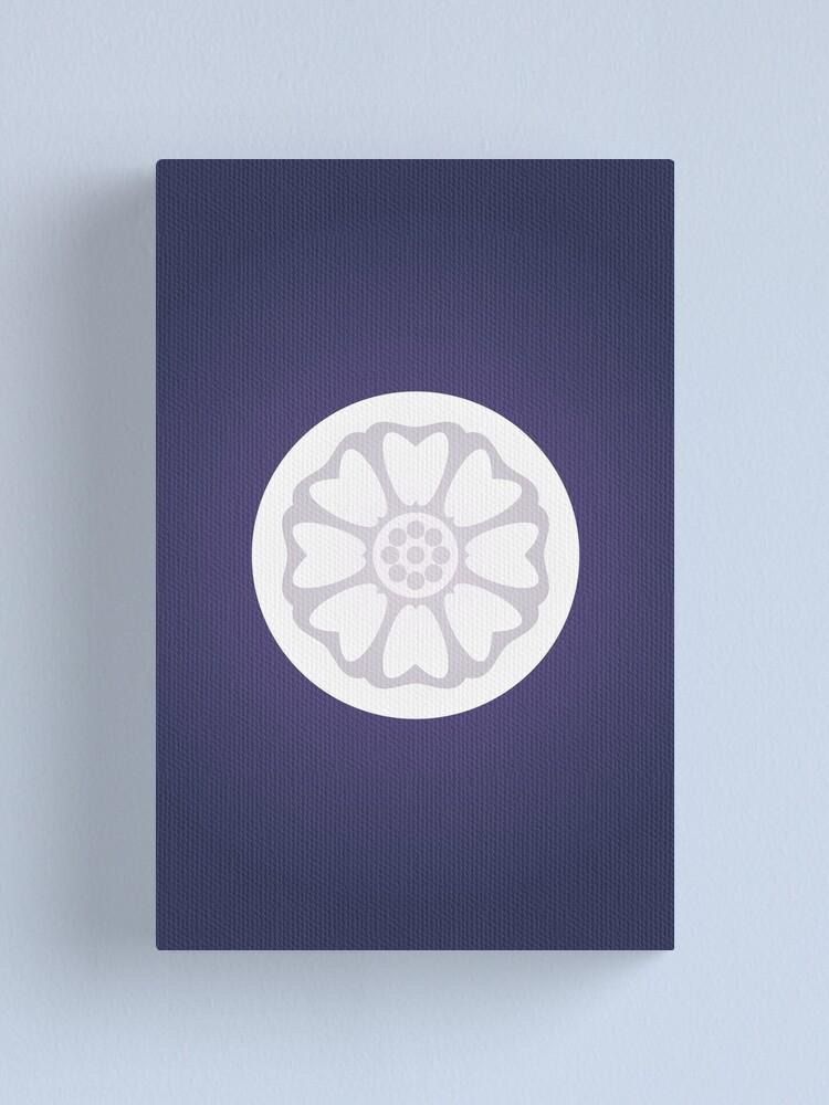 Alternate view of Order of the White Lotus Logo Canvas Print