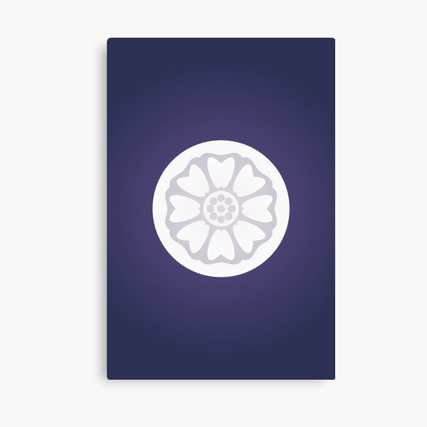Order of the White Lotus Logo Canvas Print