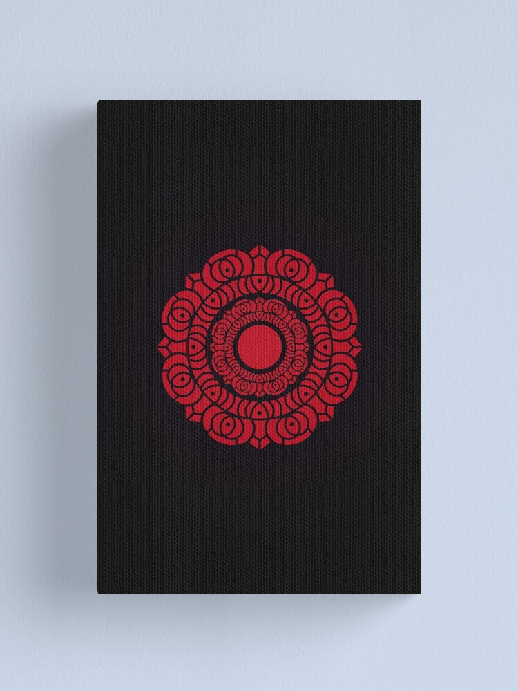 Alternate view of Order of the Red Lotus Logo Canvas Print
