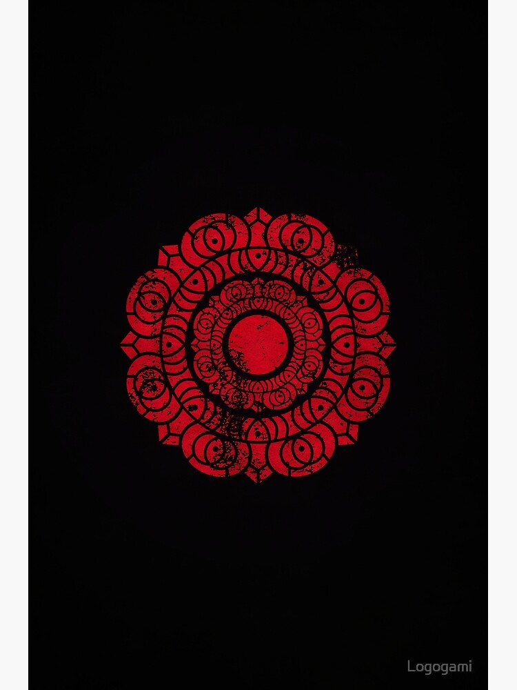 Order of the Red Lotus Logo · Distressed by Logogami