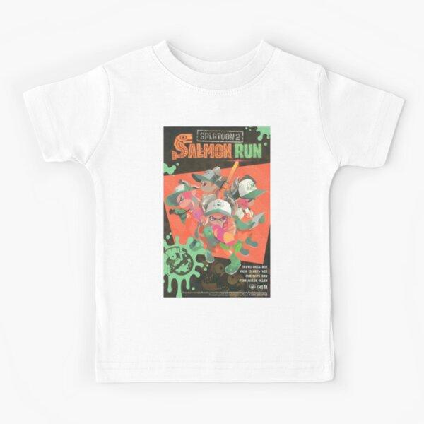 Splatoon 2 salmon run  Kids T-Shirt