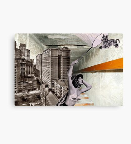 Chasing tigers Canvas Print