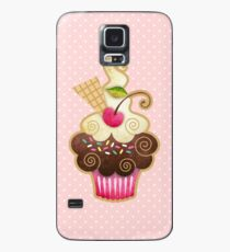 Scrumptious Cupcake Case/Skin for Samsung Galaxy