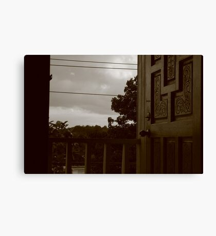 SKY DOOR Canvas Print