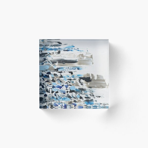 Winter at 747 Acrylic Block