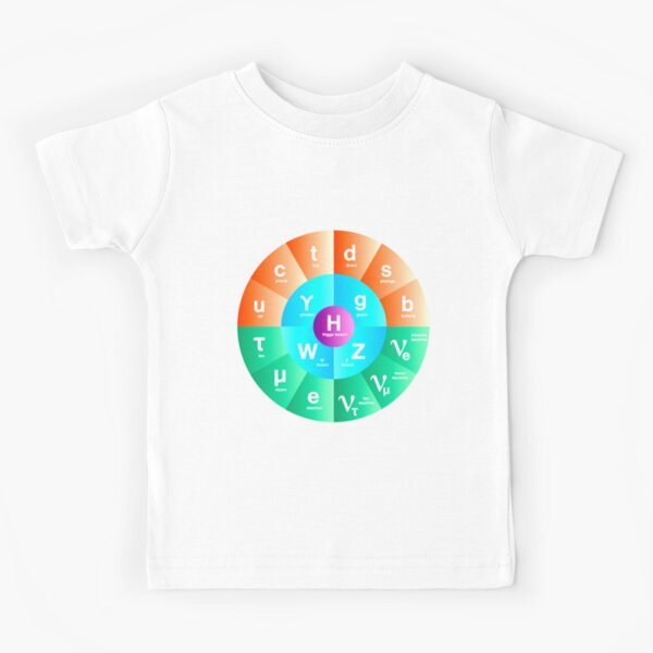 The Standard Model of Particle Physics Kids T-Shirt