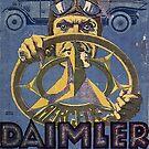 Vintage 1921 German Auto Advertisement by edsimoneit