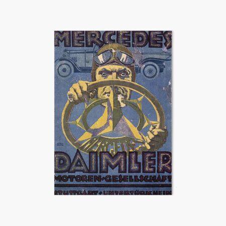 Vintage 1921 German Auto Advertisement Art Board Print