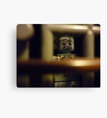 Zombie in a Cell Canvas Print