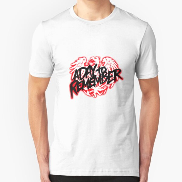 A Day To Remember Band Logo Slim Fit T-Shirt