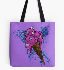 Eye Ball Ice Scream Tote Bag