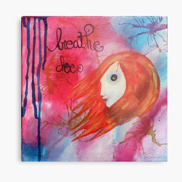 Breathe Deep Metal Print