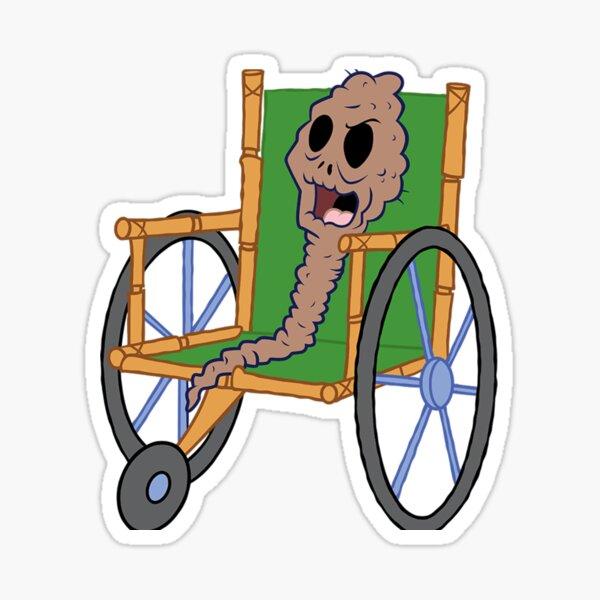 Spongebob meme de chocolate Pegatina