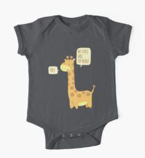 Giraffe Problems! One Piece - Short Sleeve