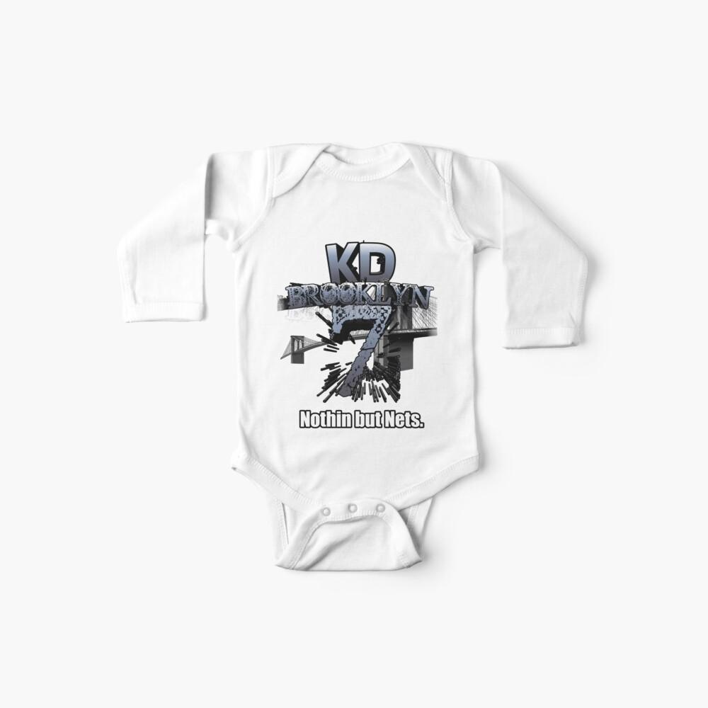 KDBrooklyn # 7 Nichts als Netze Basketball Graphic Jersey 2019-2020 Saison Baby Body