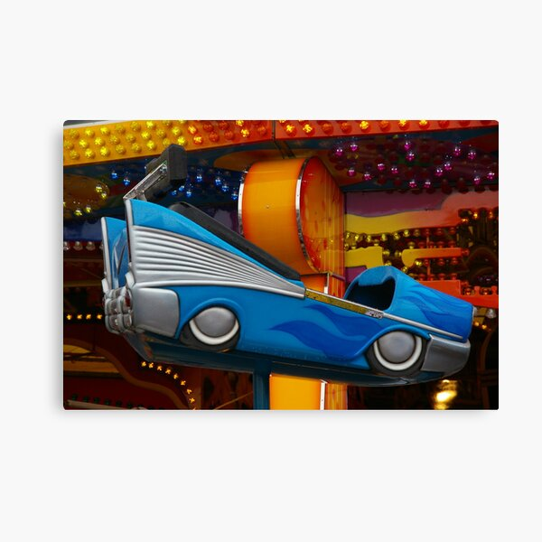 Drove My Chevy To The Levy, Er, Levitation Pavilion Canvas Print