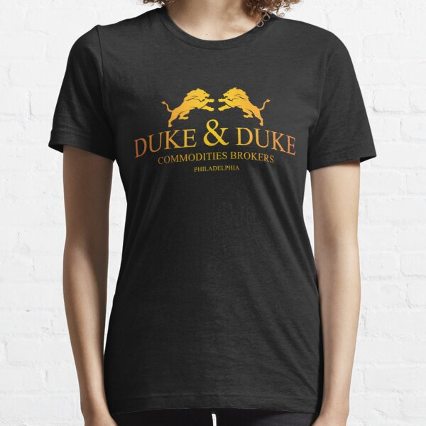 Duke and Duke logo inspired by Trading Places Essential T-Shirt