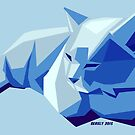 « Digital Cat - A blue collection  » par serely