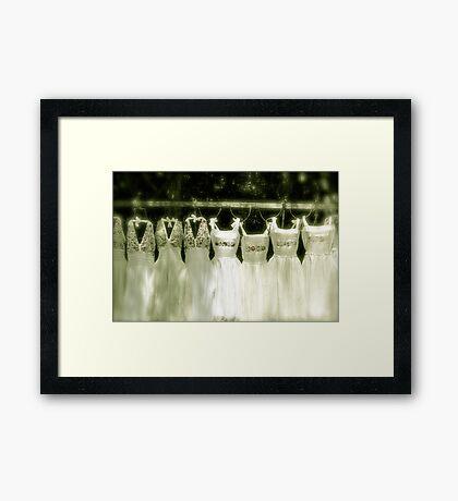 Cinderellas in Waiting Framed Print