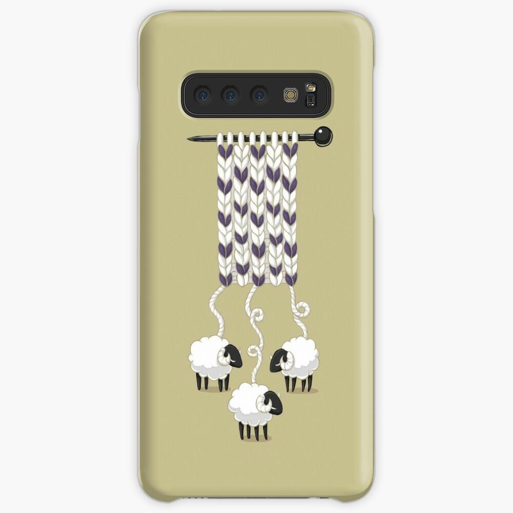 Wollschal Hüllen & Klebefolien für Samsung Galaxy