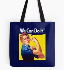 Rosie The Riveter - We Can Do It Tote Bag