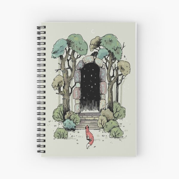 Forest Gate Spiral Notebook