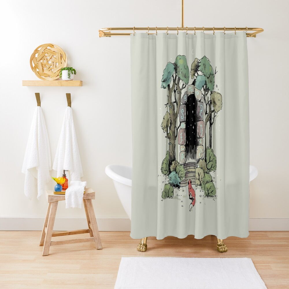 Forest Gate Shower Curtain